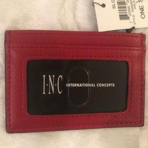 INC small card wallet